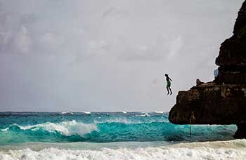 Diving-off-Cliffs-on-the-East-Coast-of-Barbados