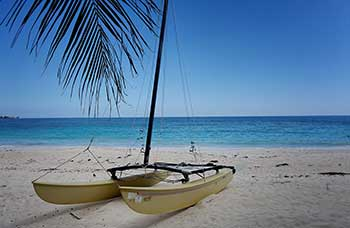 Wind-Sail-on-the-Beach-in-Barbados